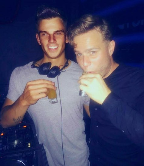 Will Turner DJ and Olly Murs